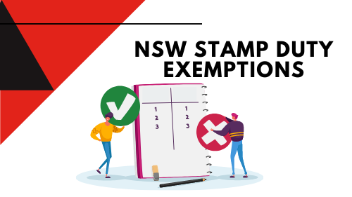 nsw stamp duty exemptions