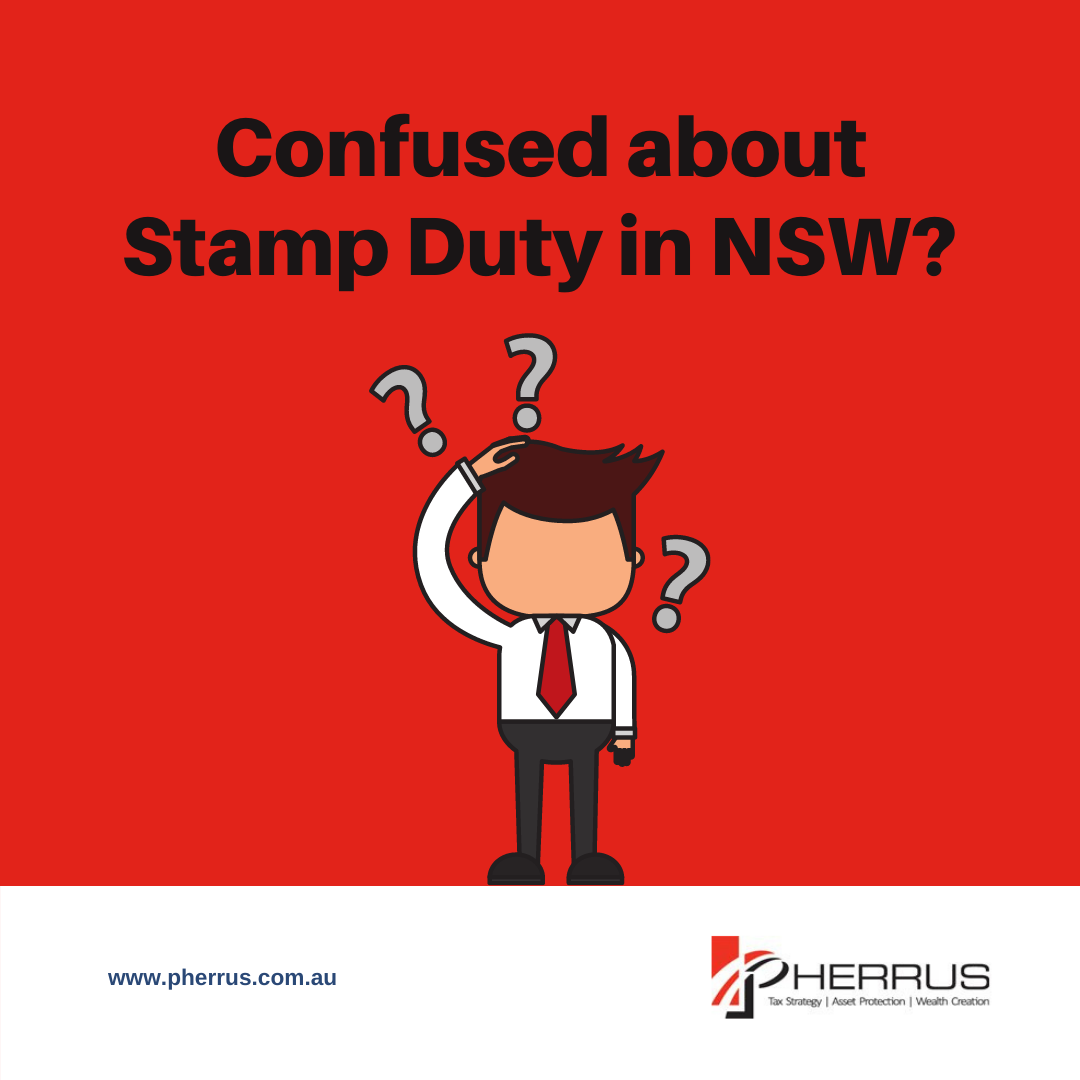 confused about nsw stamp duty - let pherrus help